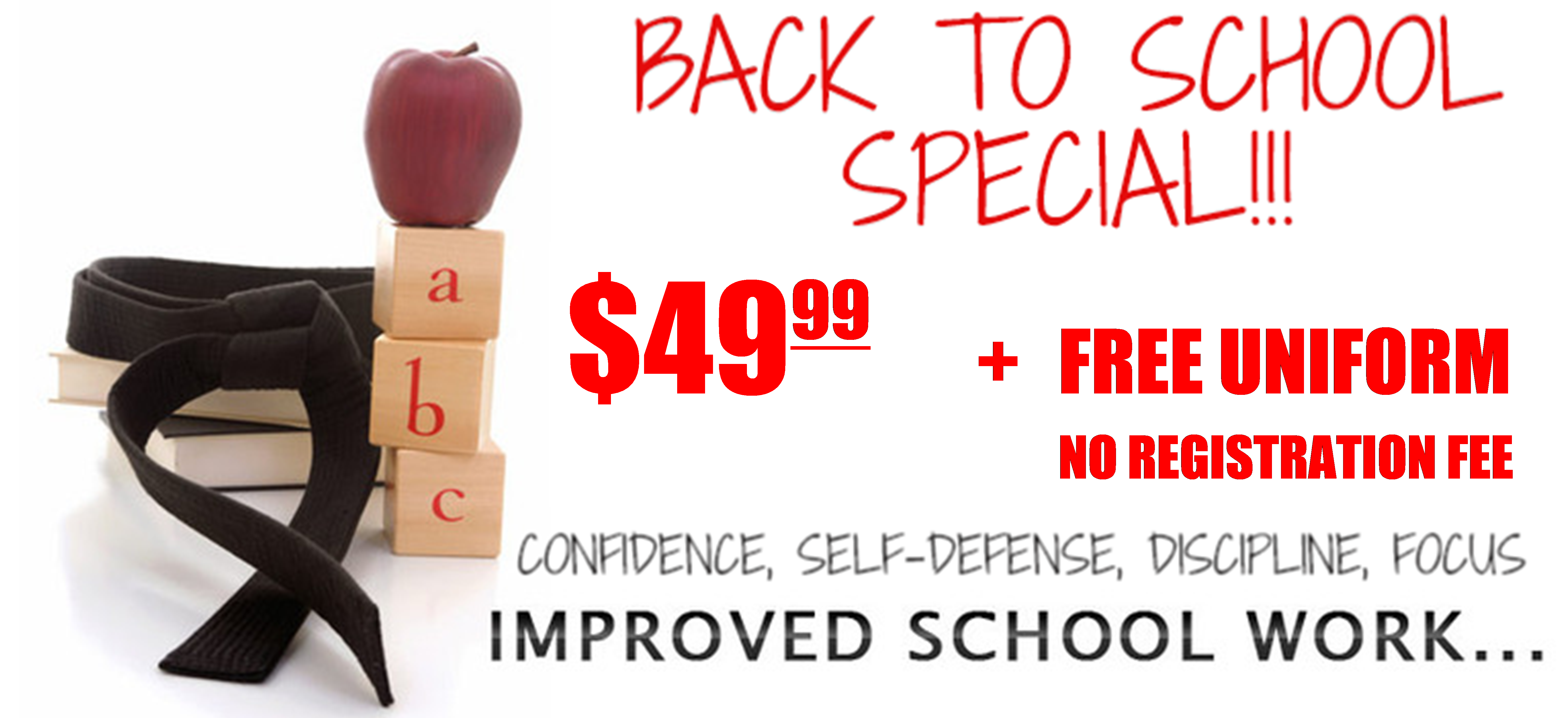 Back to School Special - 2018